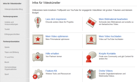 übersicht youtube partnerprogramm 2012