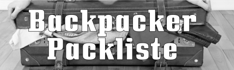 backpacker packliste